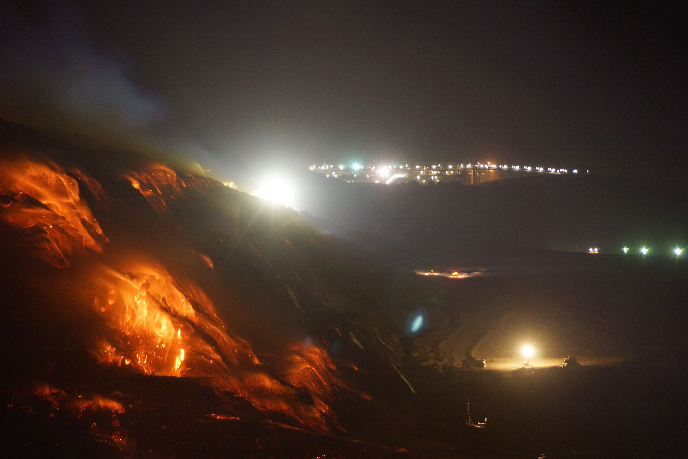 Coal Mining Drawings Coal Mine Fire Still Burning