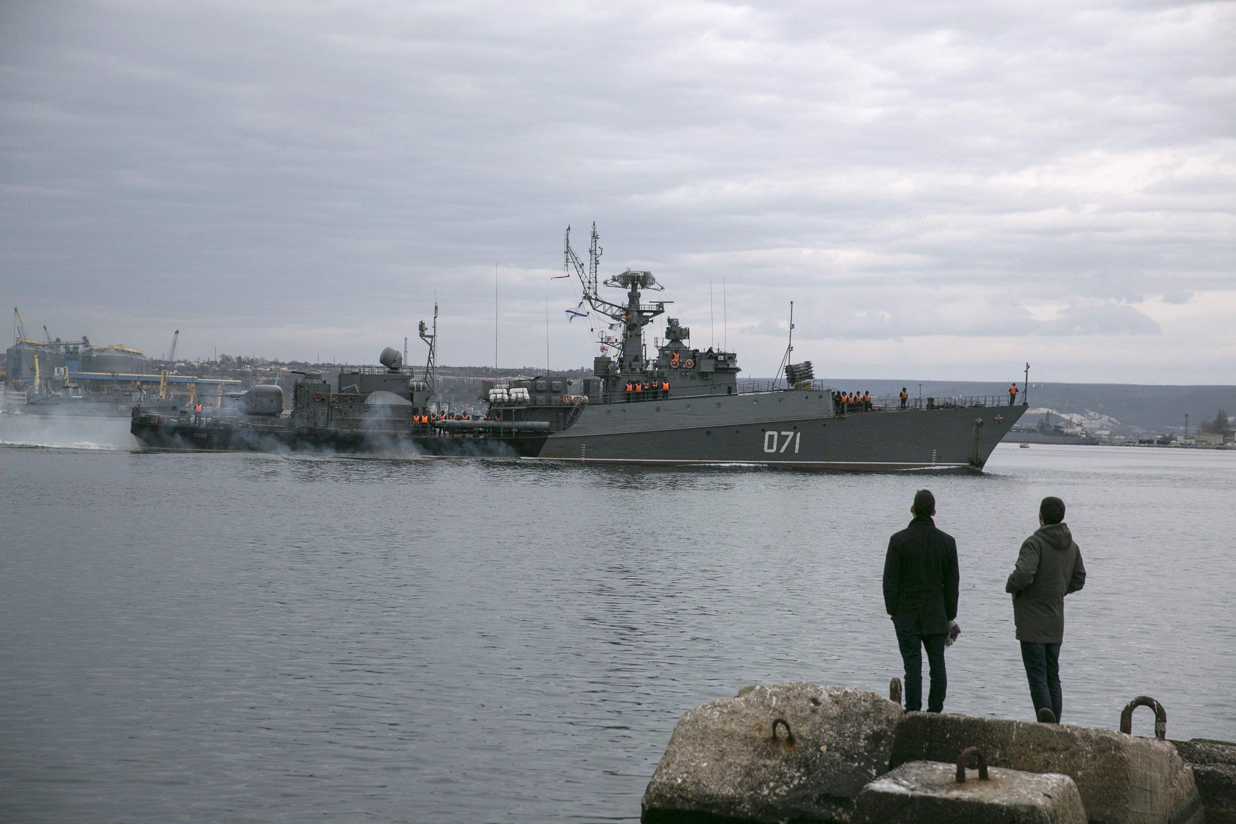 Ukraine battleship
