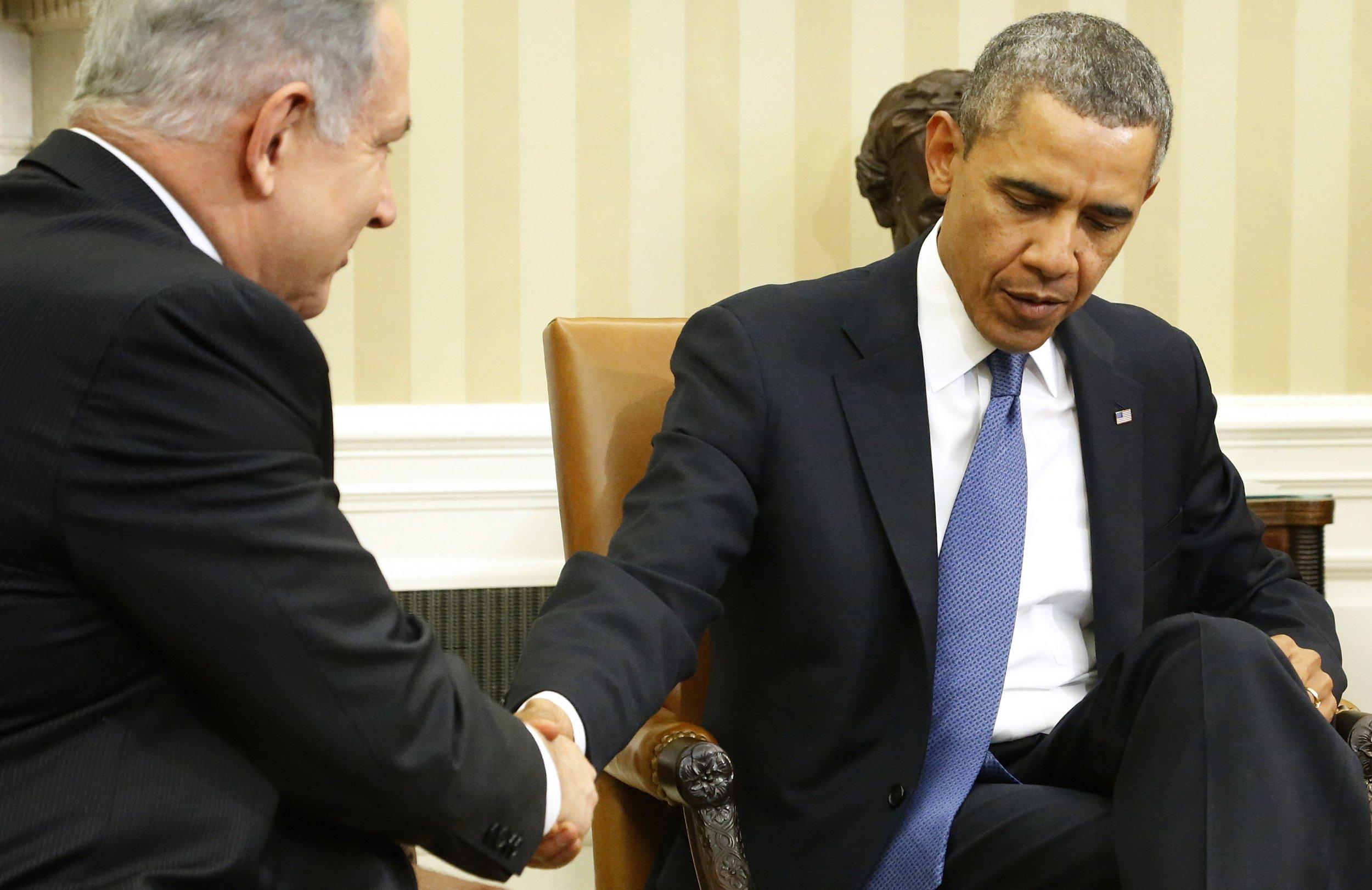 netanyahu and obama relationship to bush