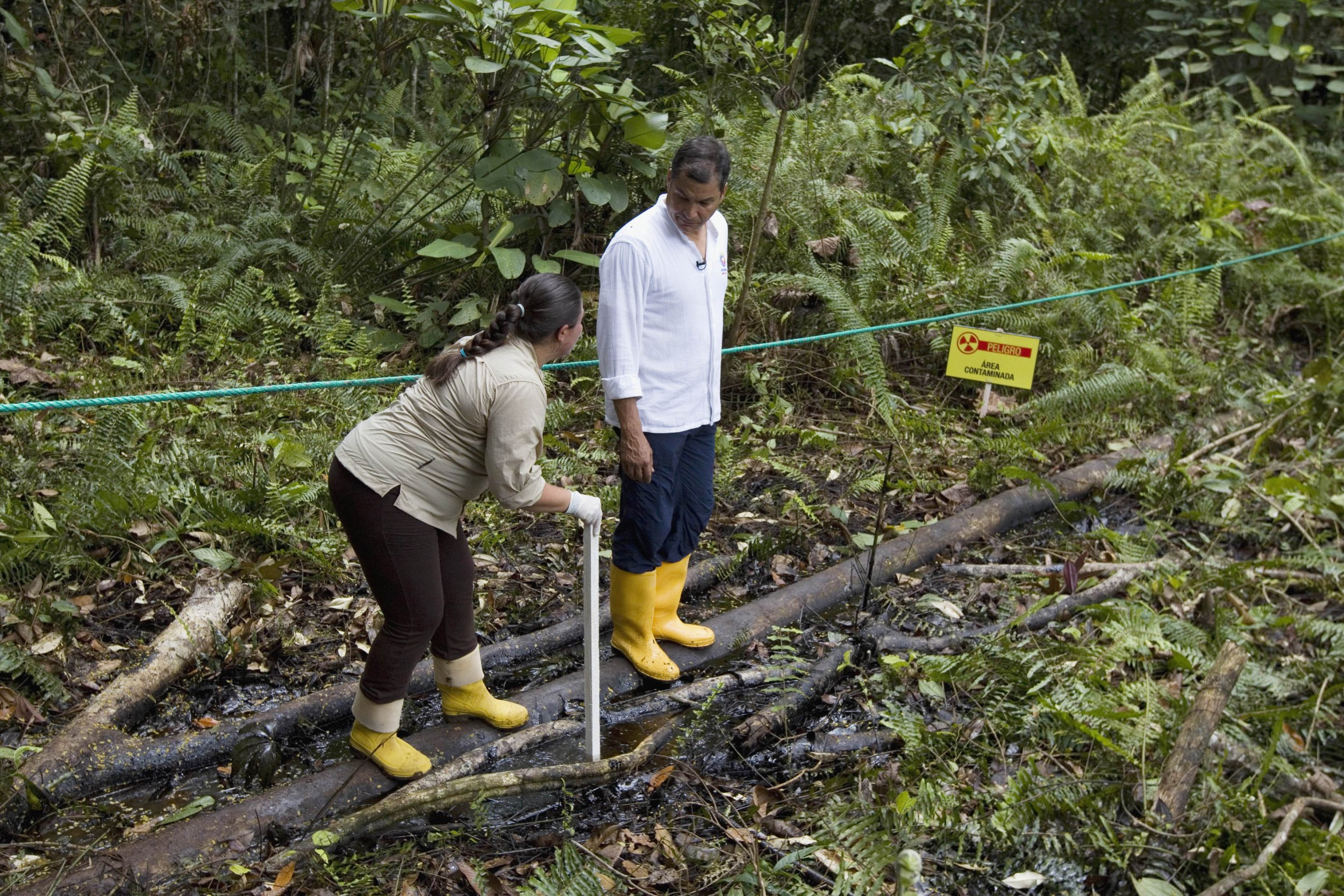 Chevron oil spill Ecuador