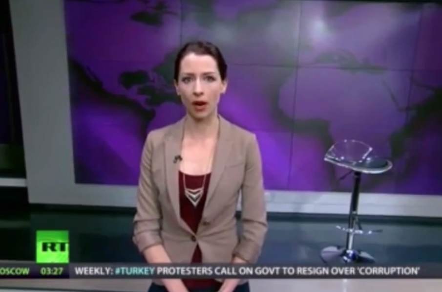RT presenter Abby Martin