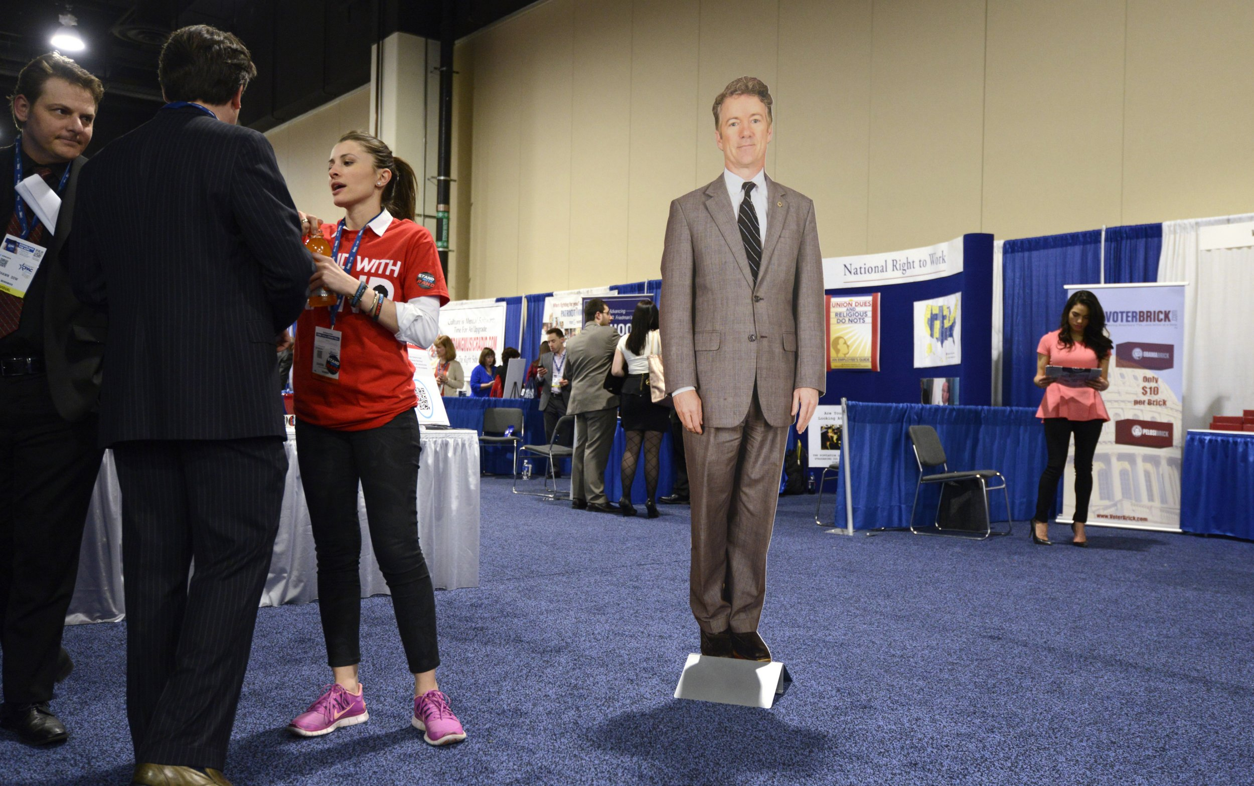 CPAC rand paul cutout