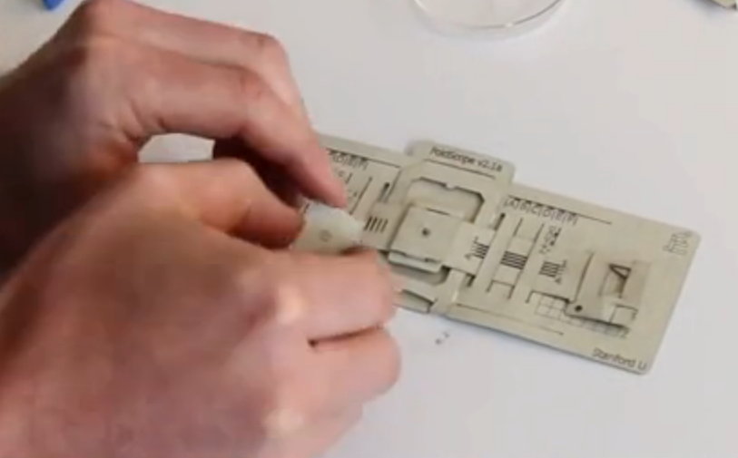 paper microscope