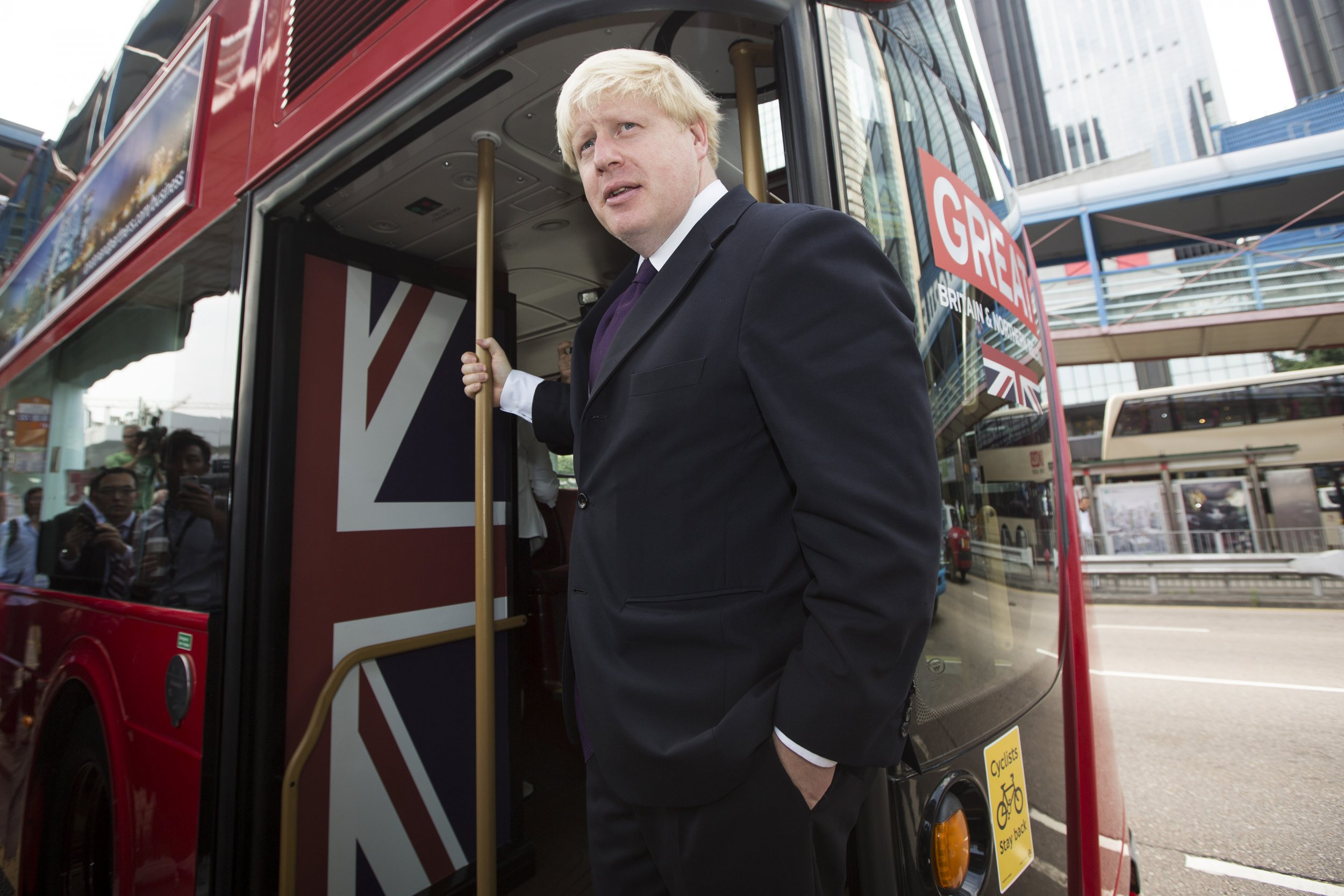 Boris Johnson, London's mayor