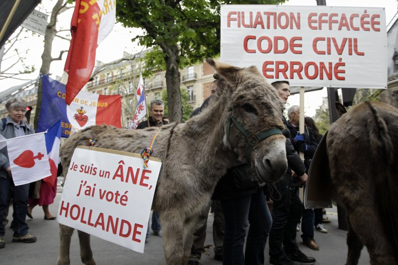 """""""La Manif pour Tous,"""" or """"Demonstration for All"""""""