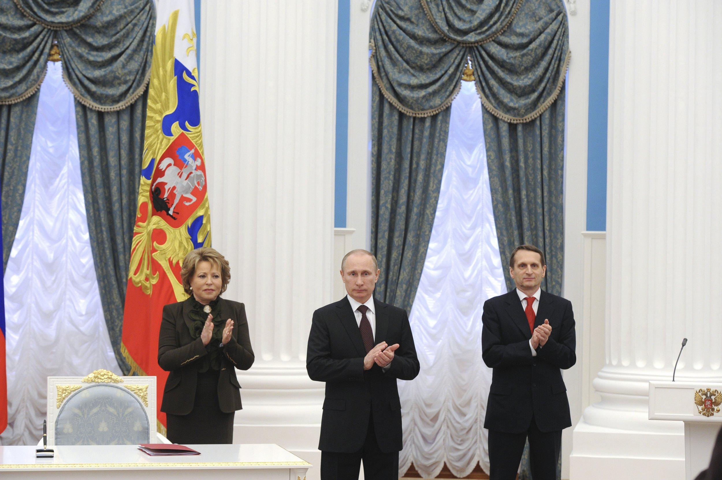 Putin takes Crimea