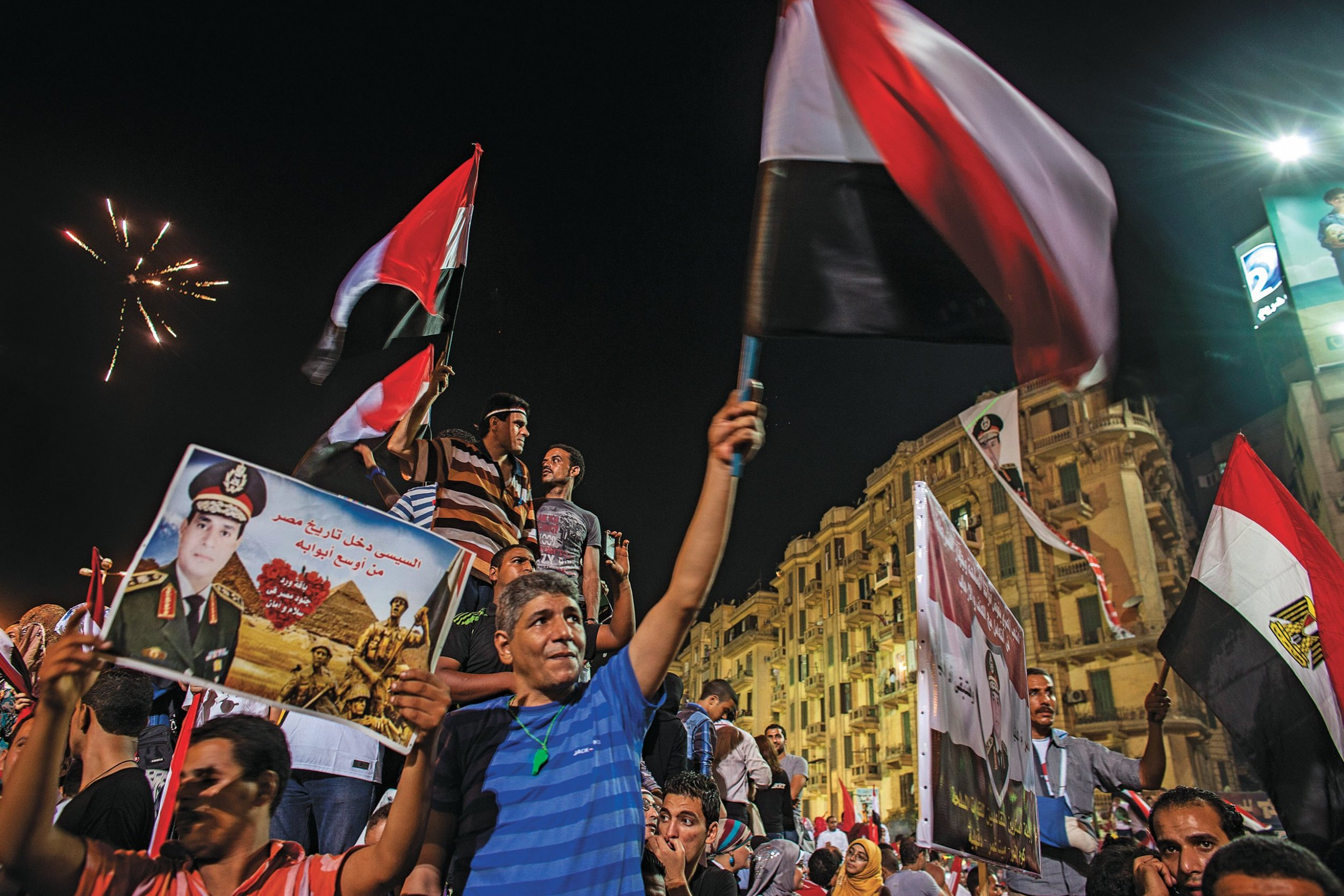 COURAGE!! General El-Sisi, the most popular man in Egypt