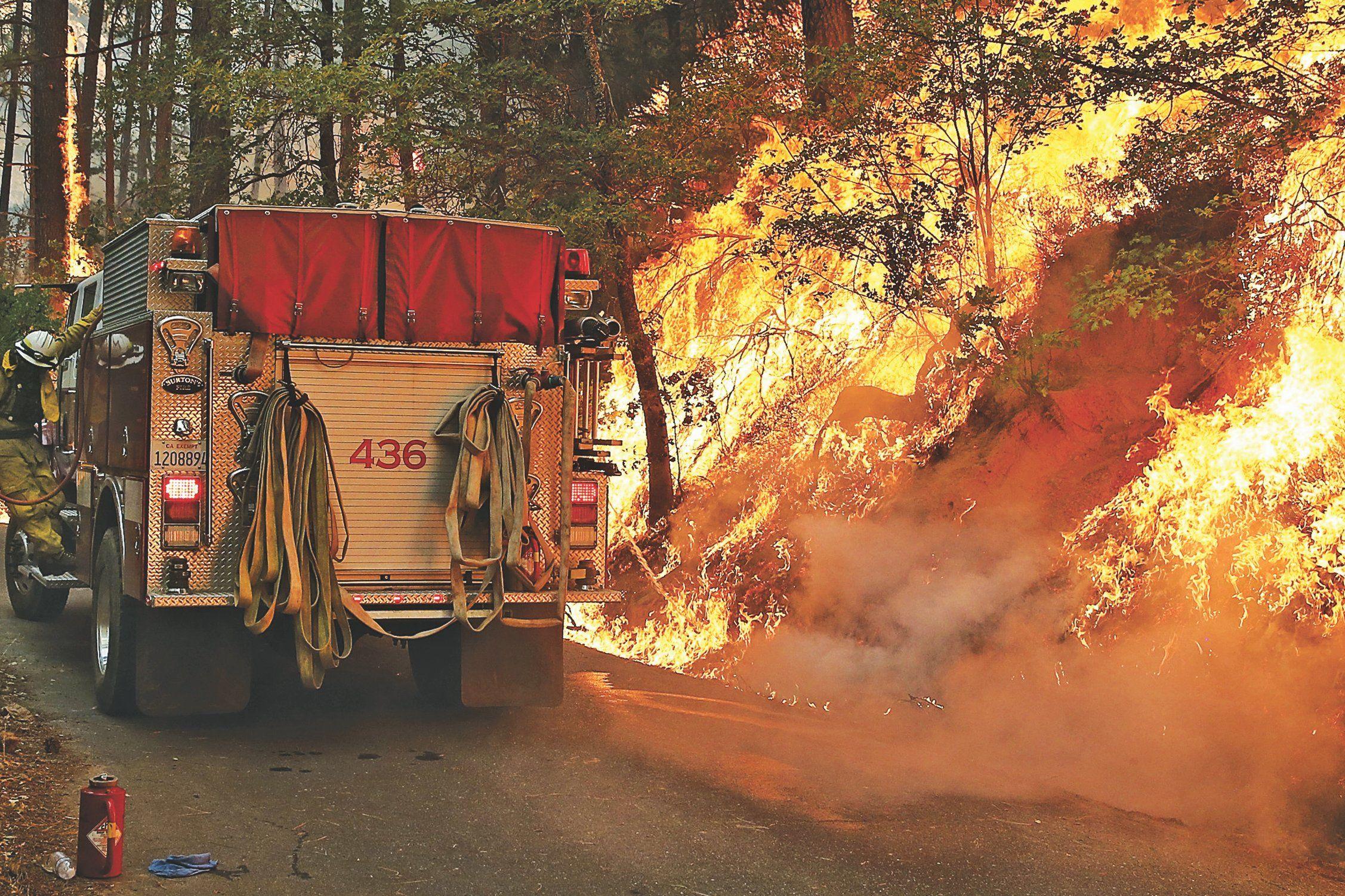 States Ablaze