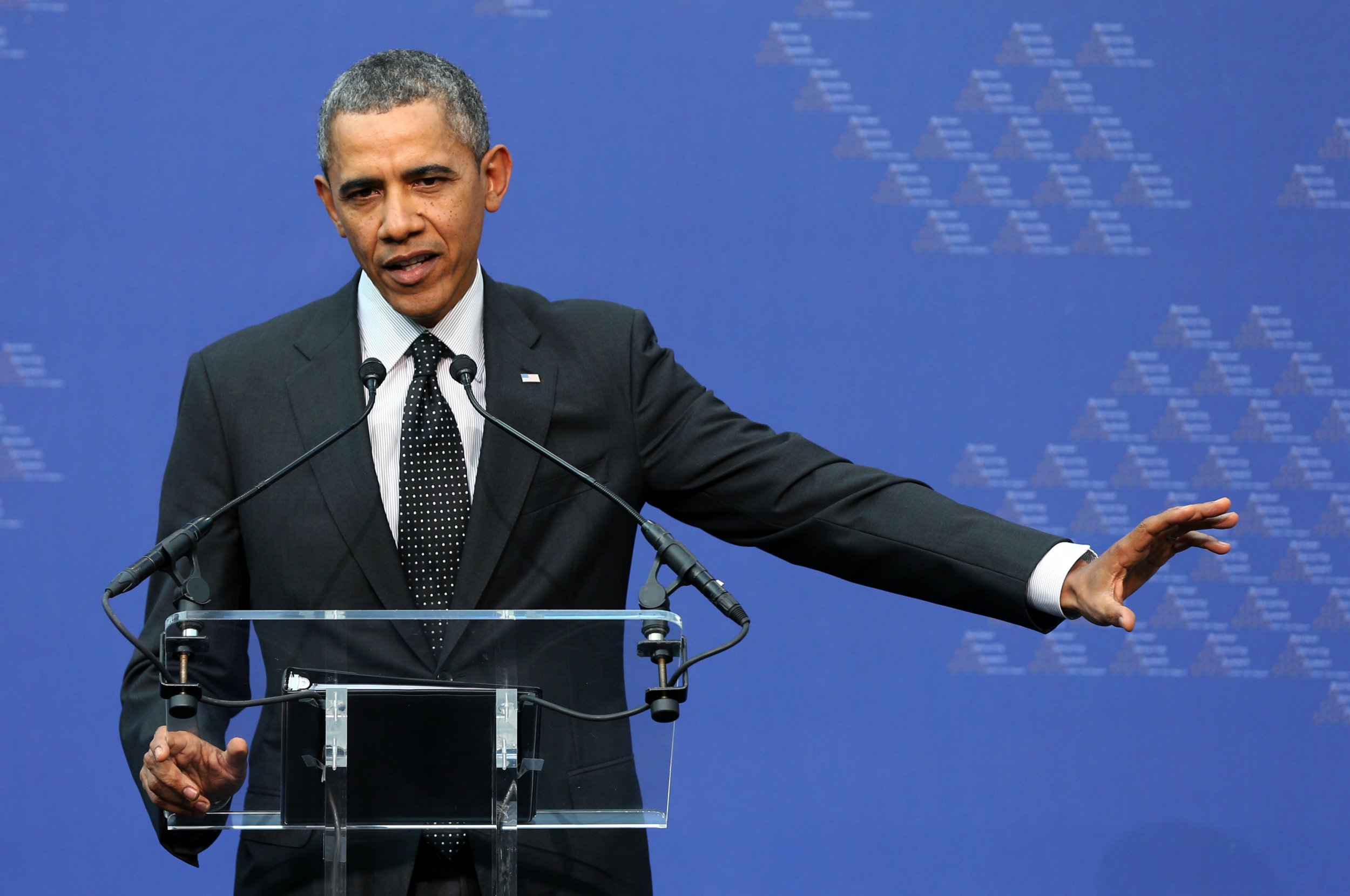Obama in The Hague