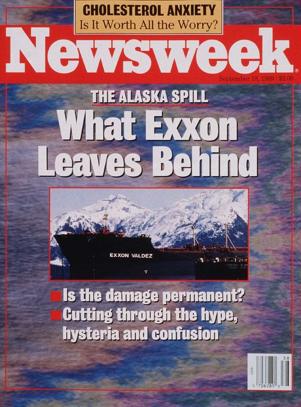 exxon valdez newsweek cover