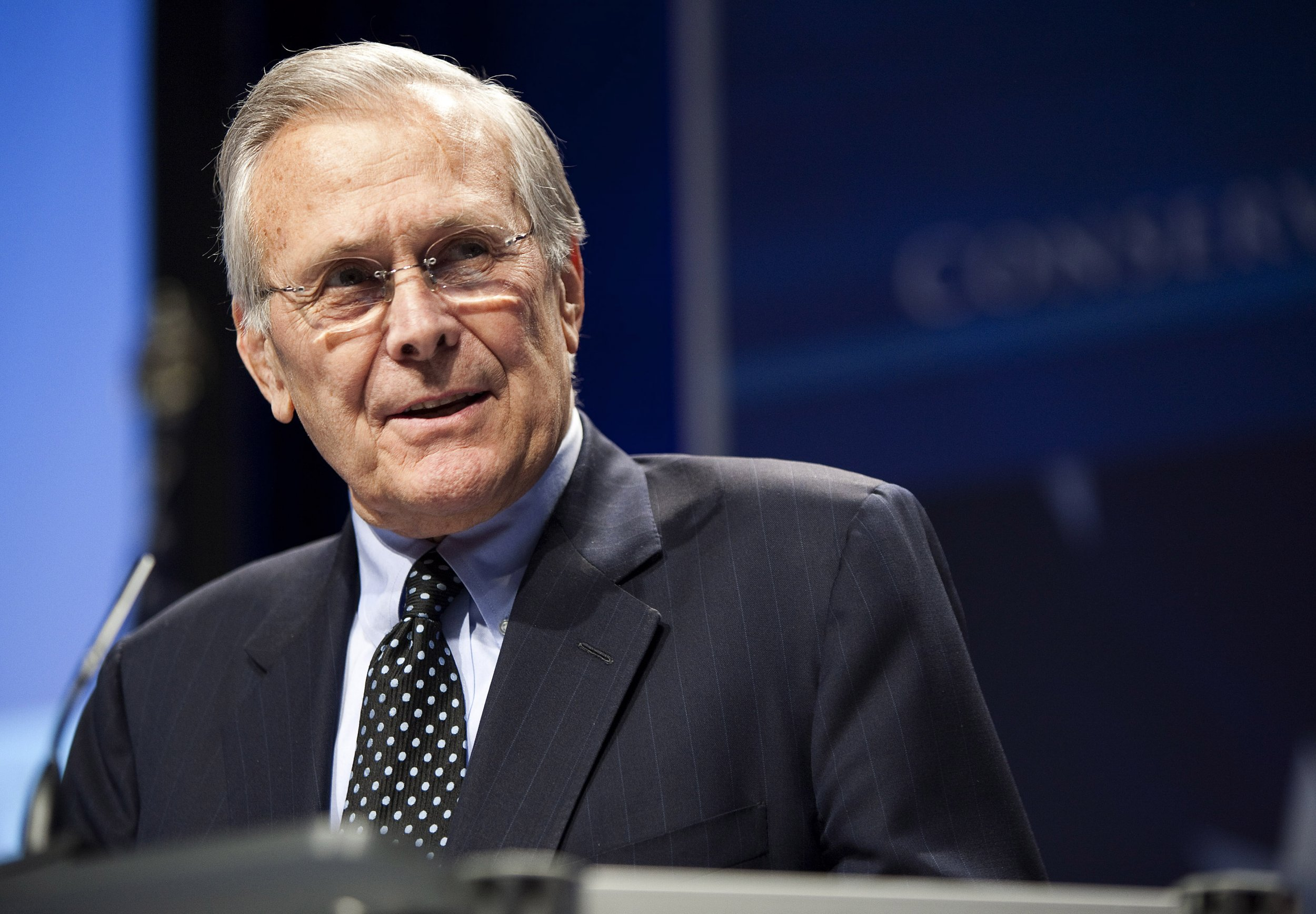 Former Secretary of Defense Donald Rumsfeld