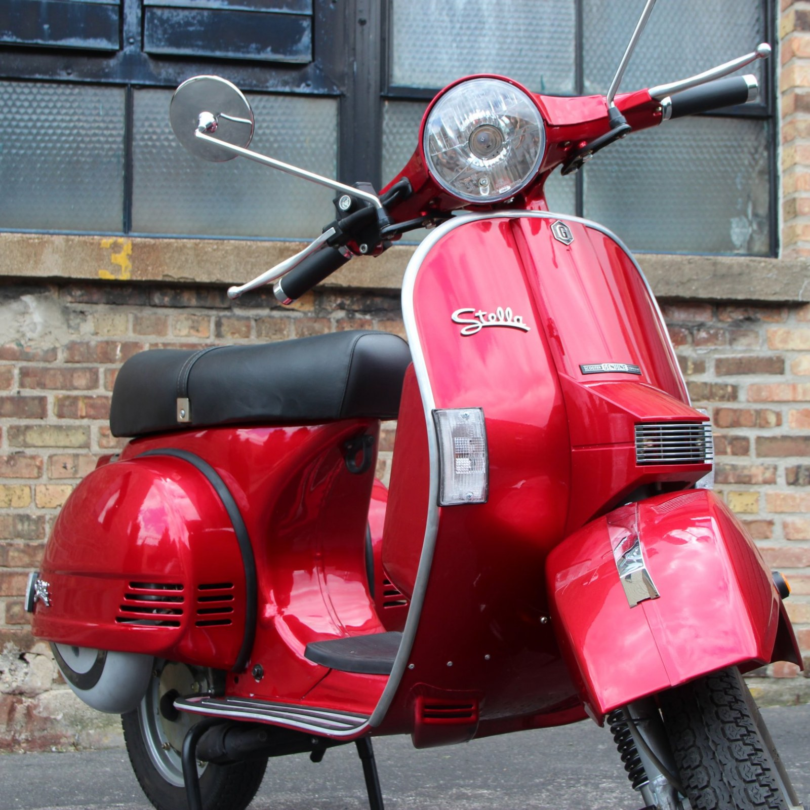 Big Boy Toys: Born to be Wild on a Stella Automatic 125 Scooter