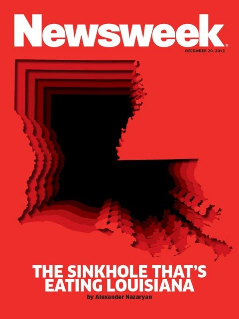 The Sinkhole That's Eating Louisiana
