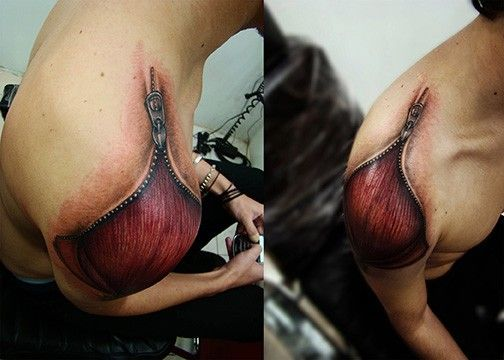 3 D Tattoos Take Over