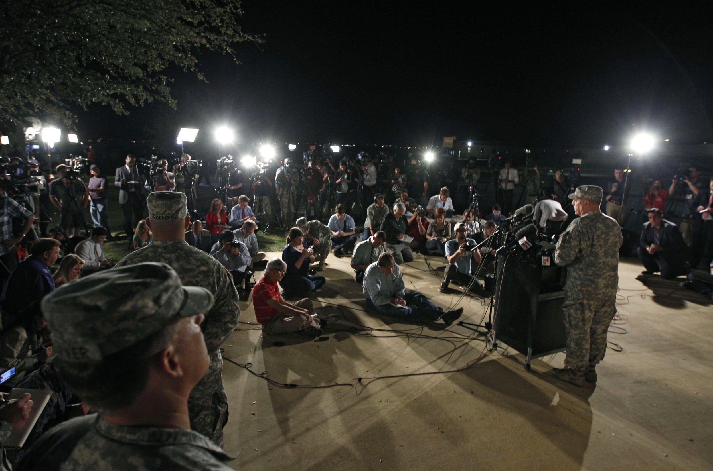 U S Army Names Fort Hood Shooter Says Had Mental Illness