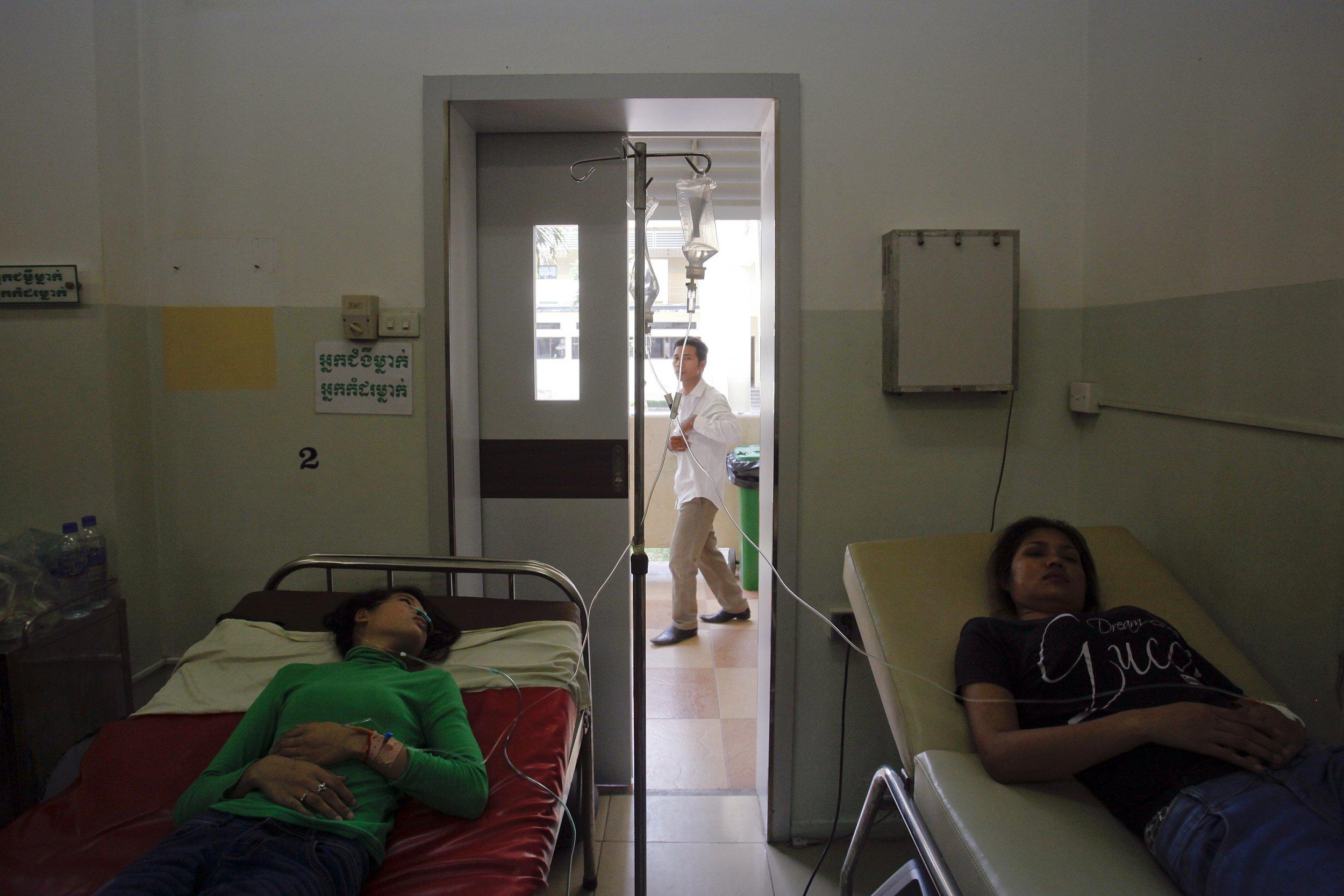 fainting in cambodia