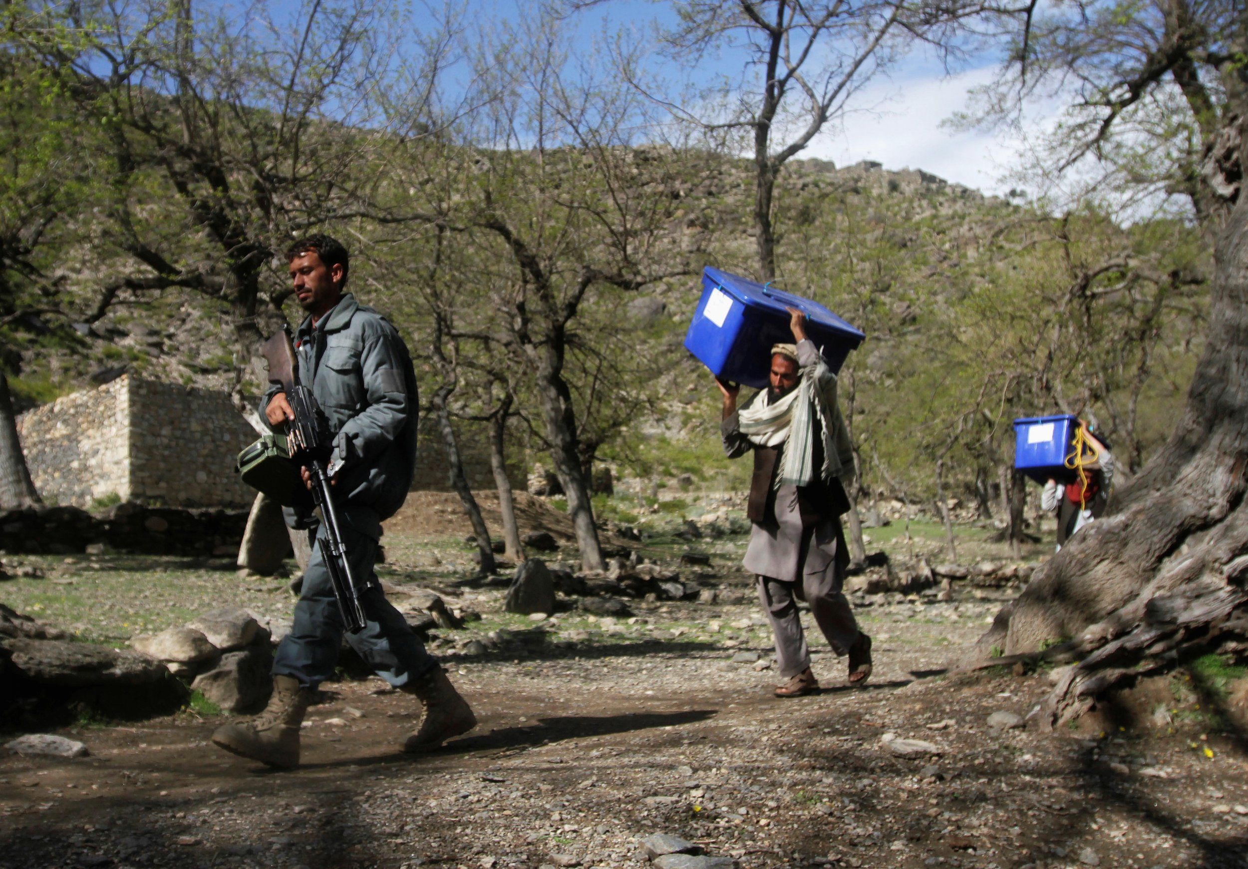 Afghanistan polling 1