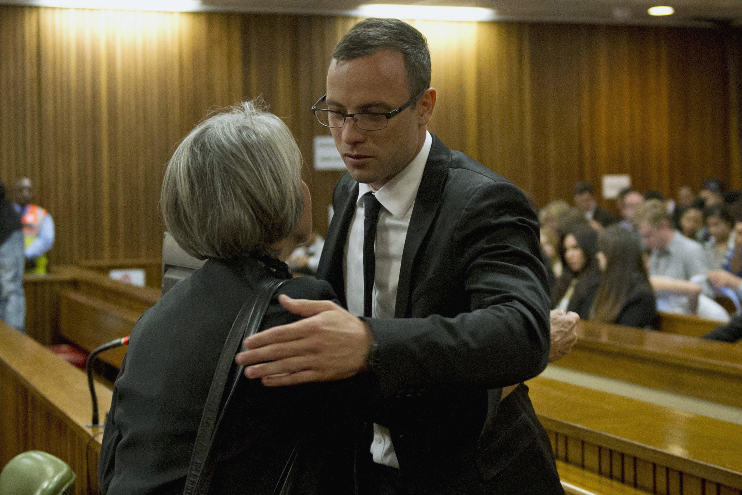 Oscar Pistorius Trial Emotional Pistorius Takes
