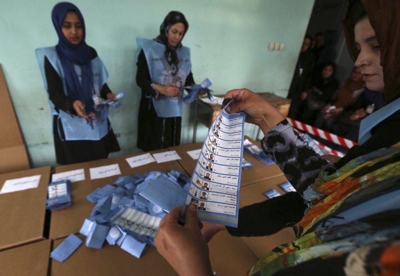 Afghan voting