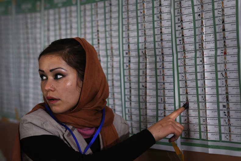 Afghan voting 2