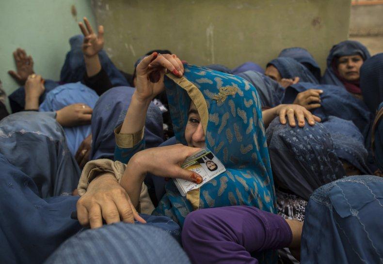 Afghan voting 7