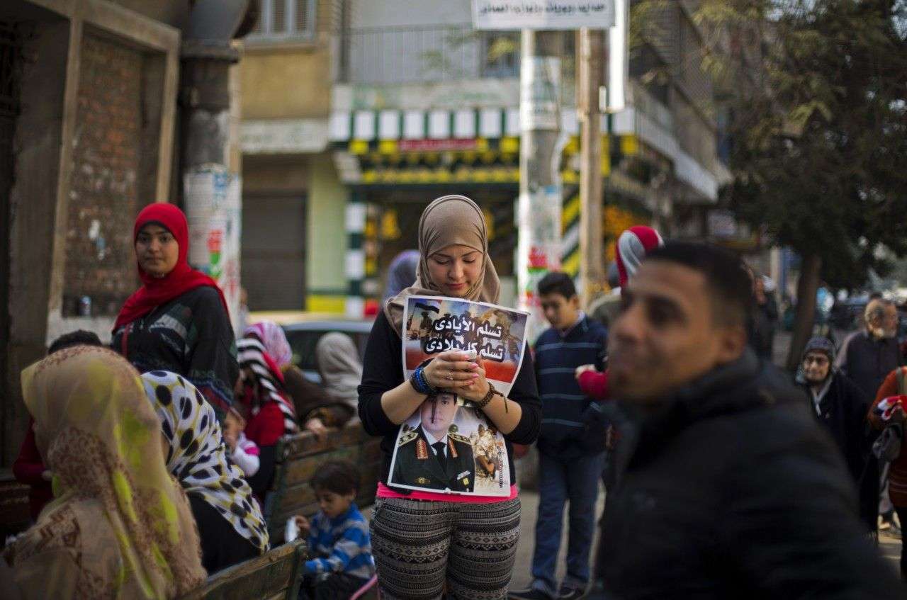 Egypt Votes on New Constitution