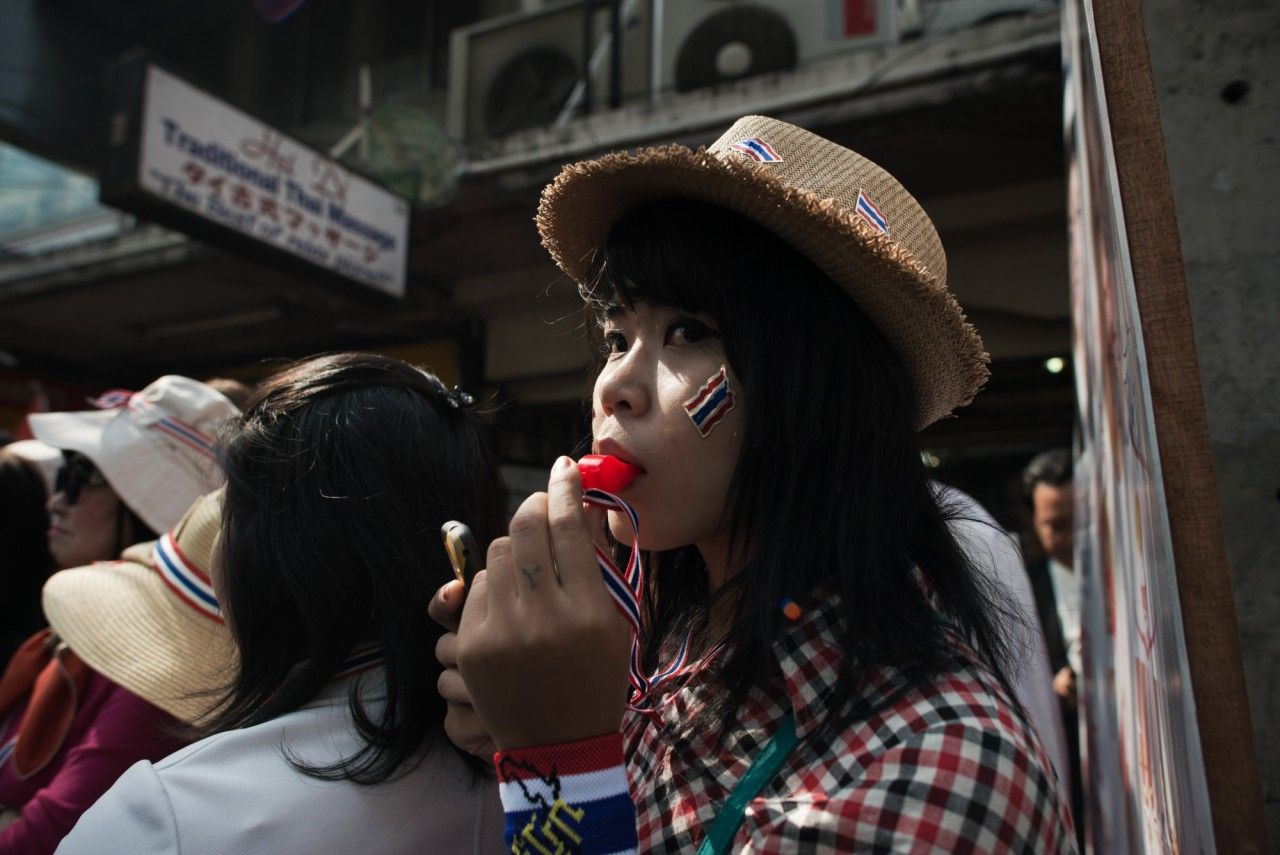 Protest Continue in Thailand