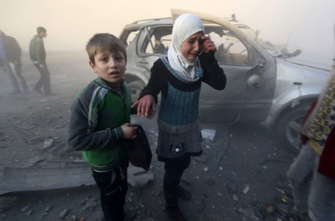 Peace Talks Aside, War Continues in Syria