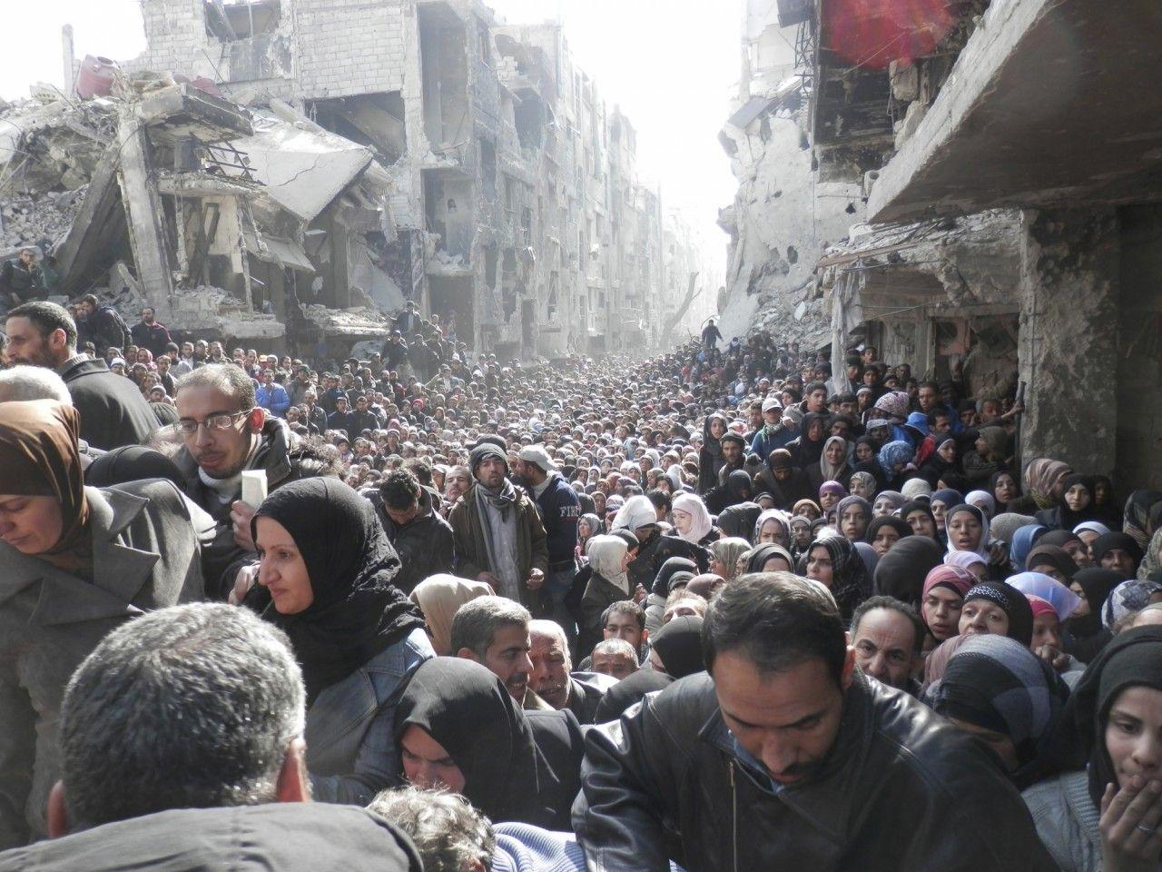 Syria's Massive Humanitarian Crisis