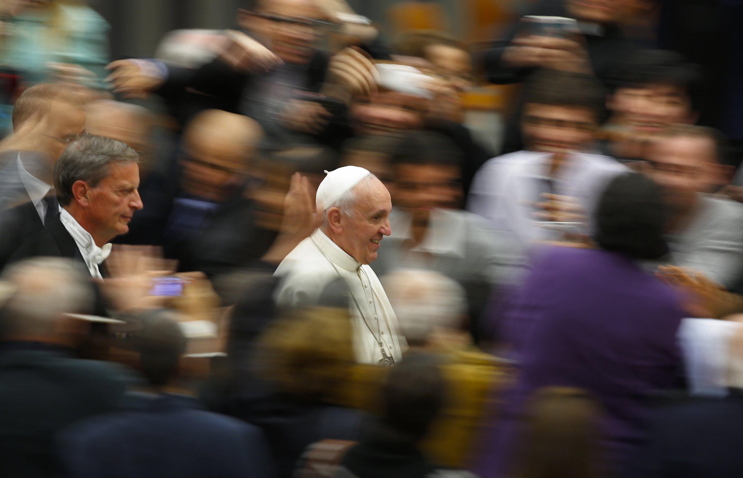 Pope Francis April 10