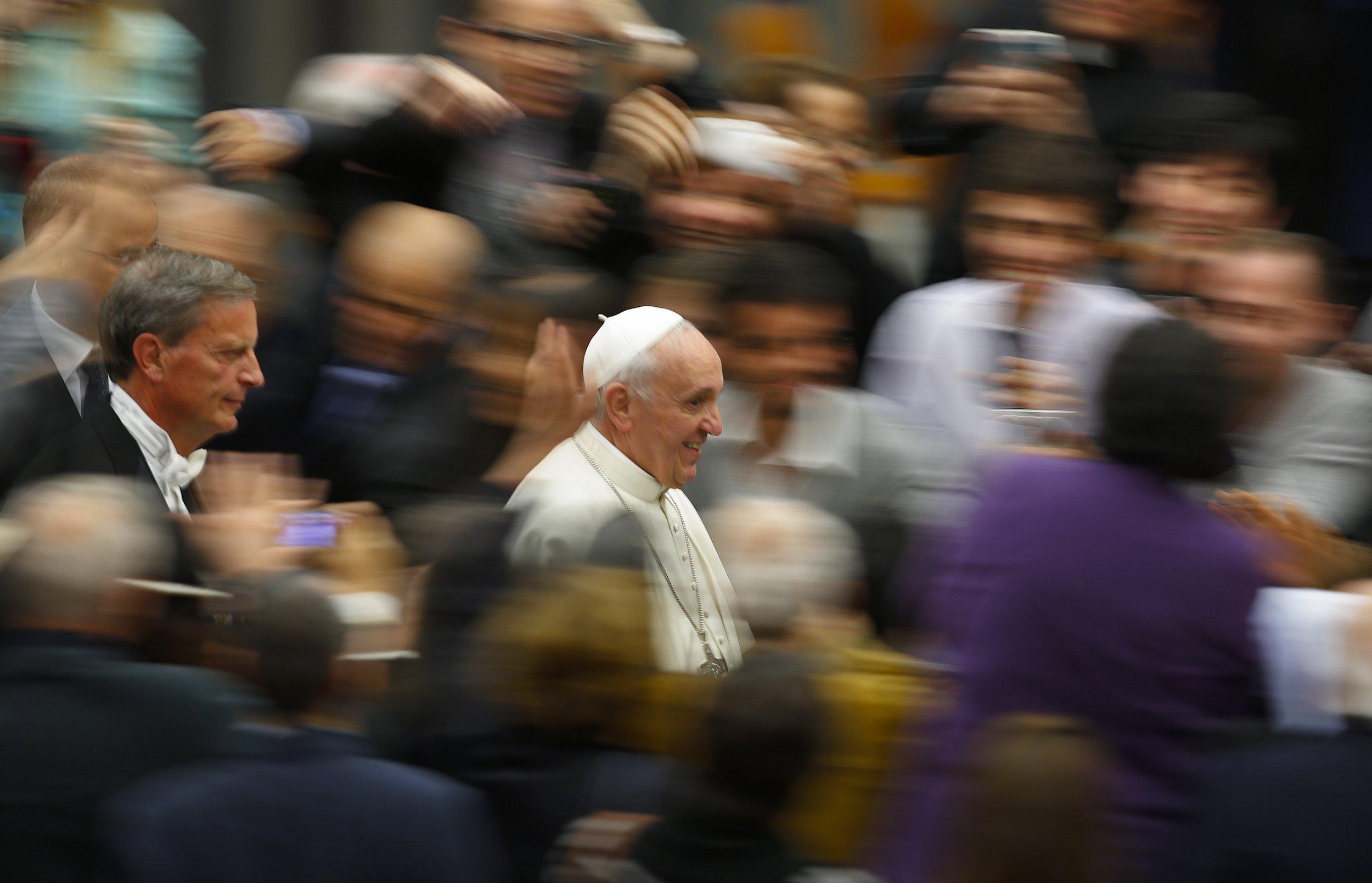 Pope Francis April 10
