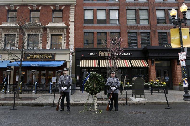 Boston honor guards