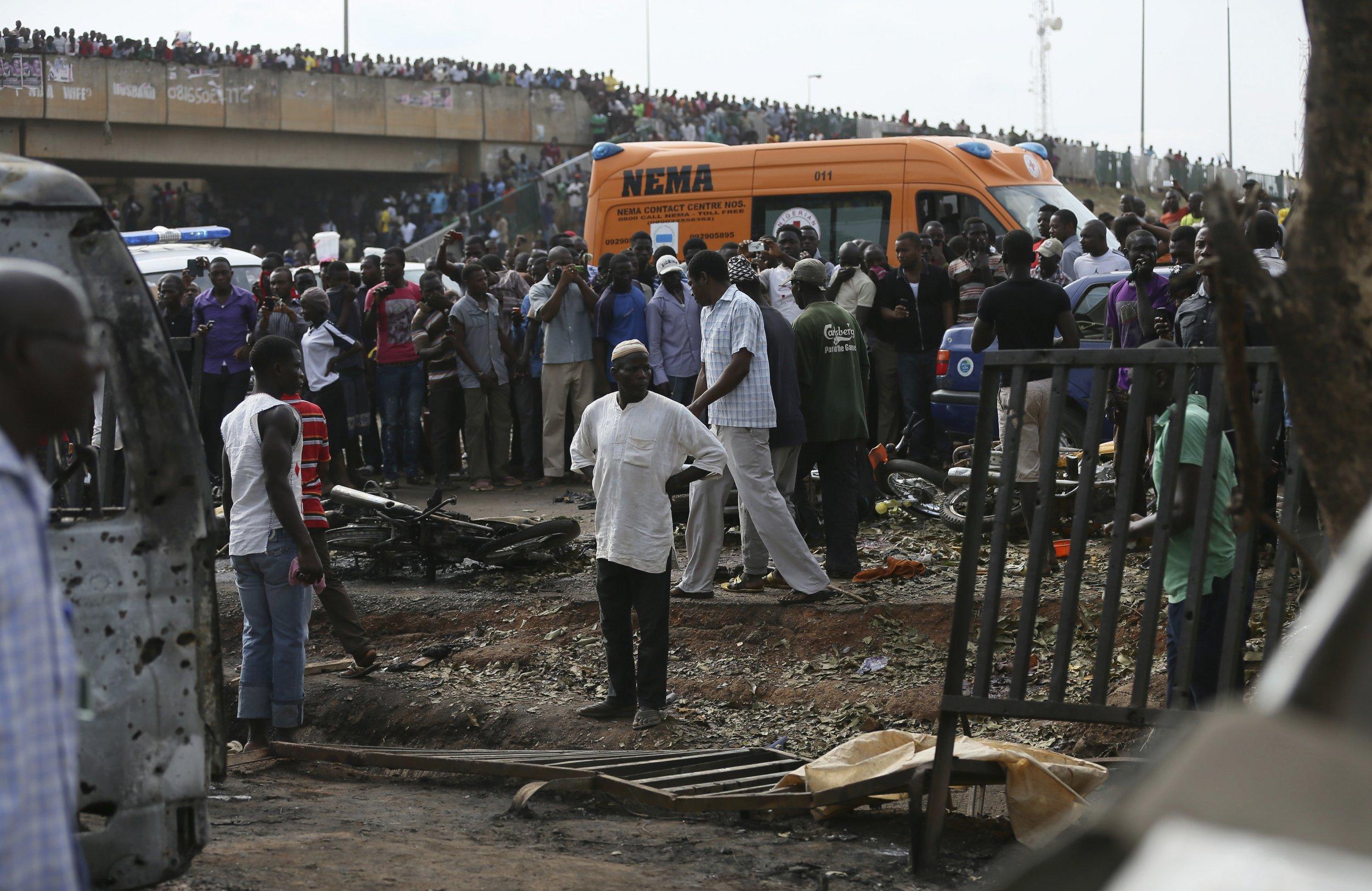 Nigeria bomb