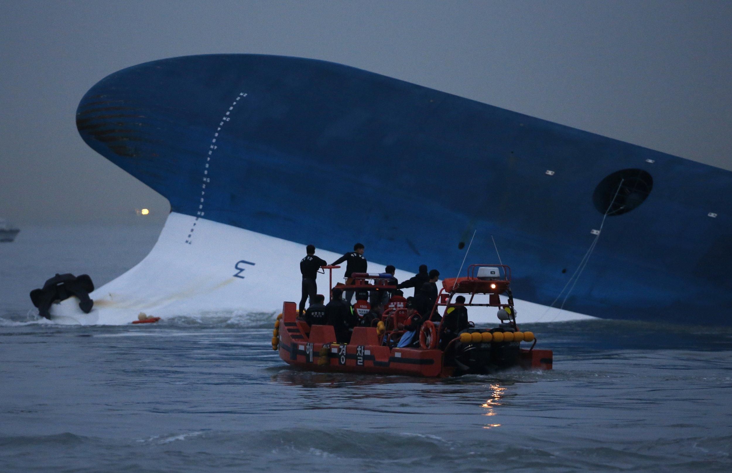 Sinking South Korean ferry