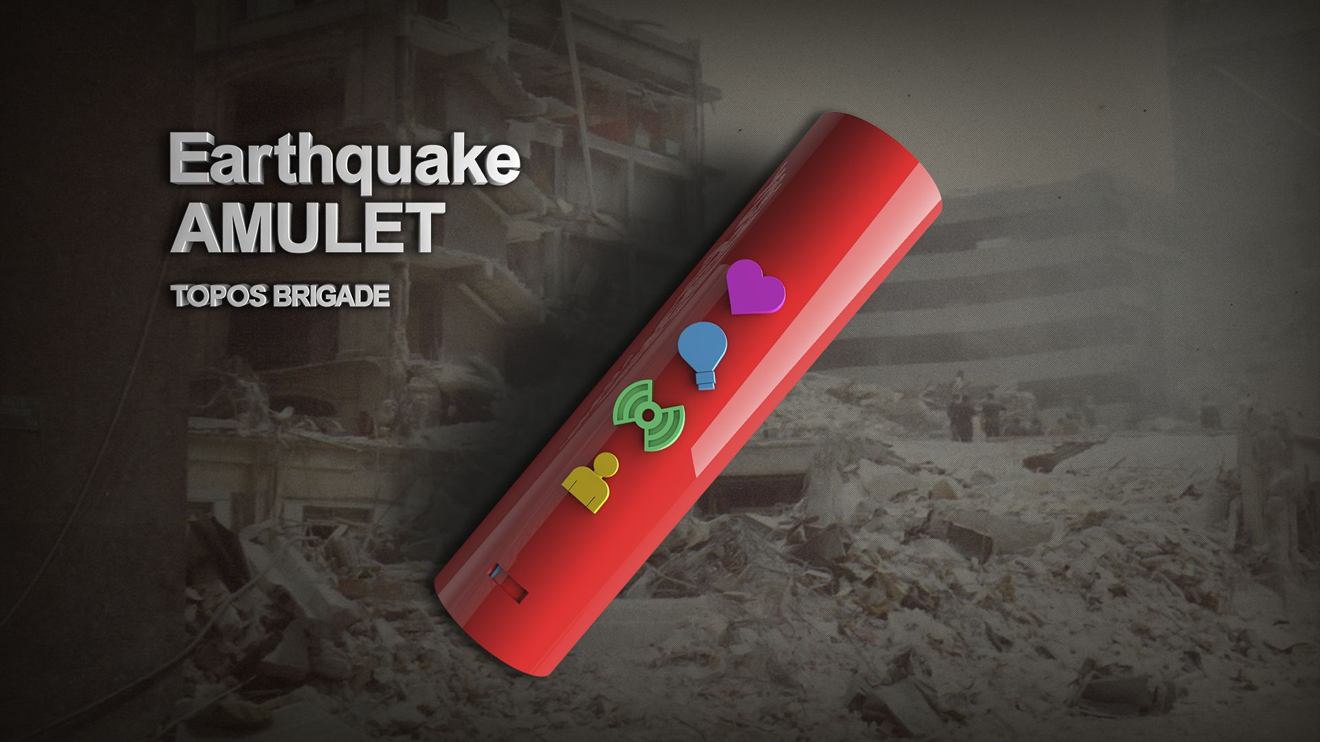 Earthquake rescue device