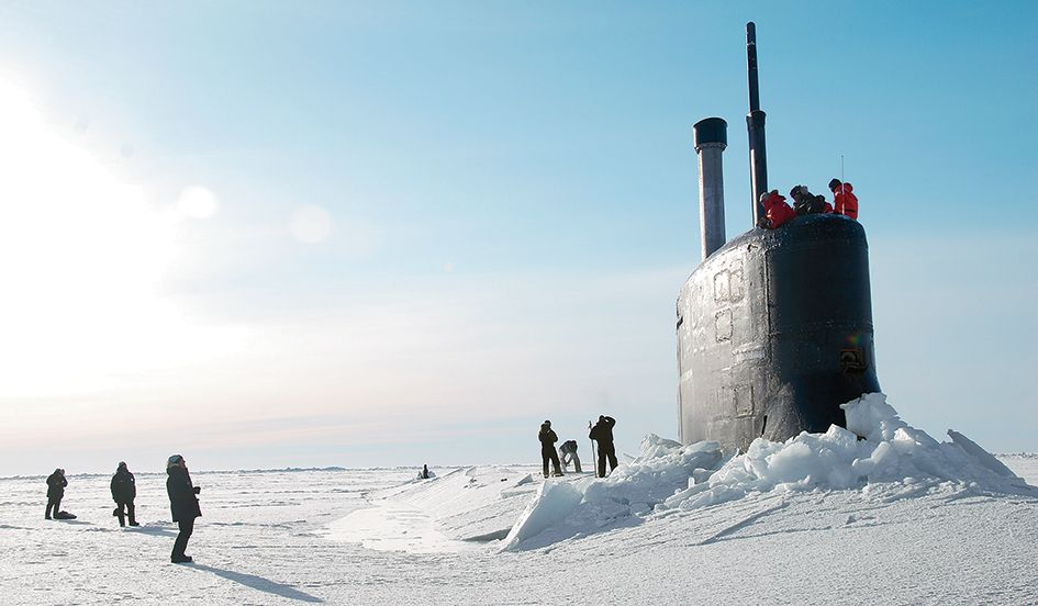 As the World Warms, Navy Strategists Plan for an Arctic Rush