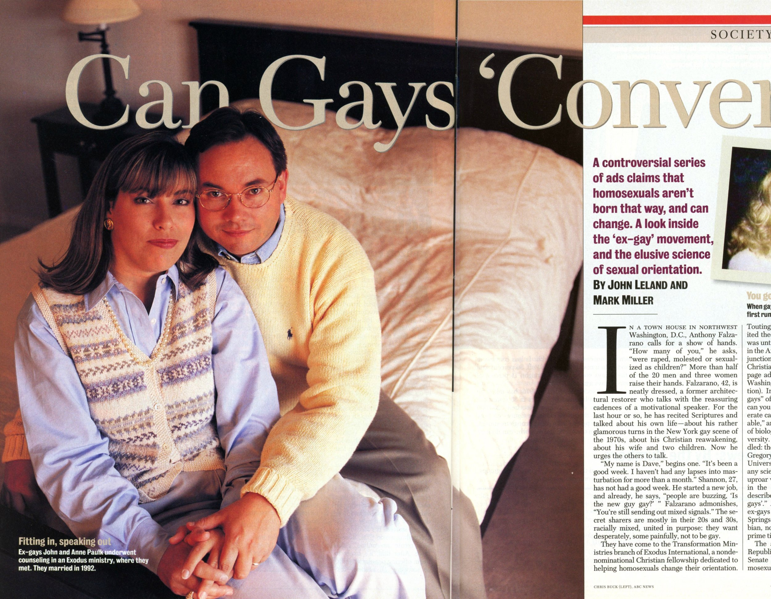 Can Gays Convert