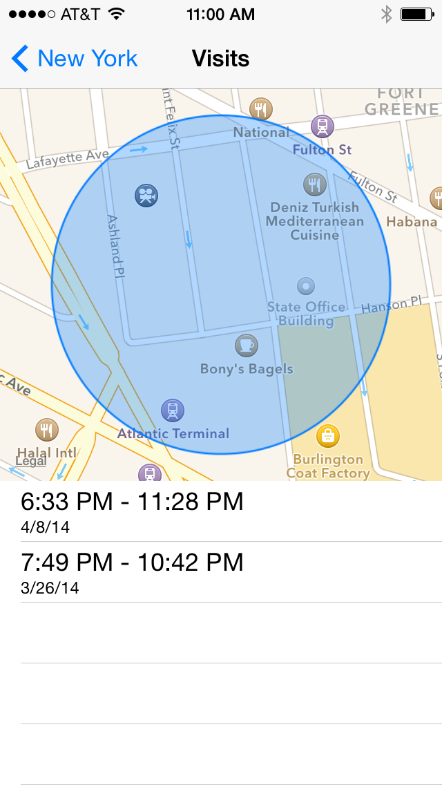 how to turn frequent locations off on iphone