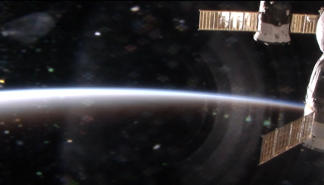 The International Space Station's view of Earth