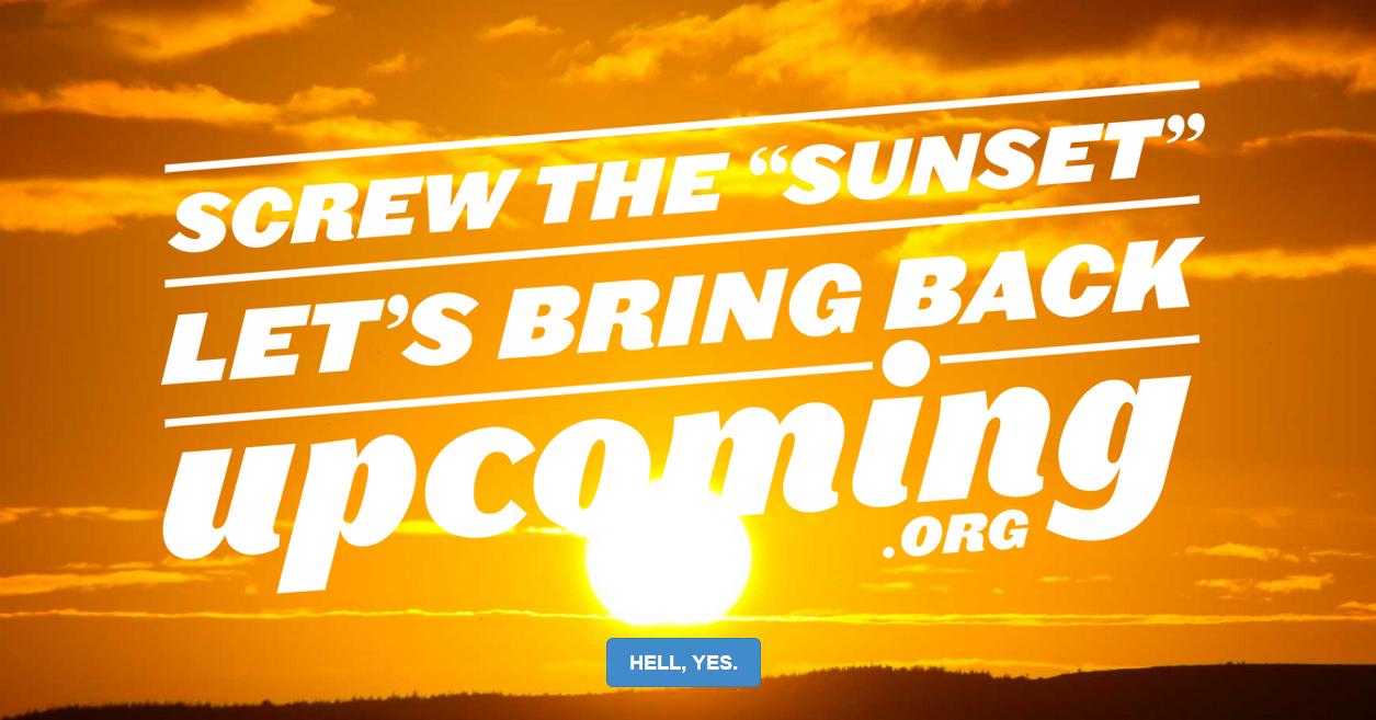 Upcoming.org!