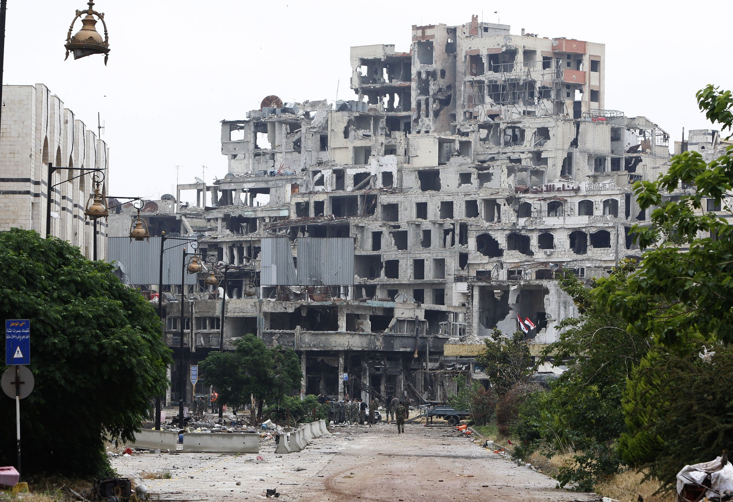 A Destroyed Homs Changes Hands in Syria