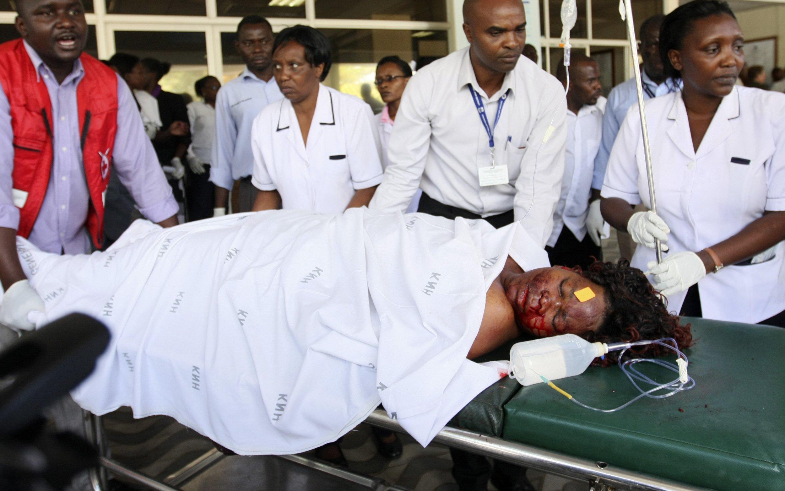 Kenya blasts