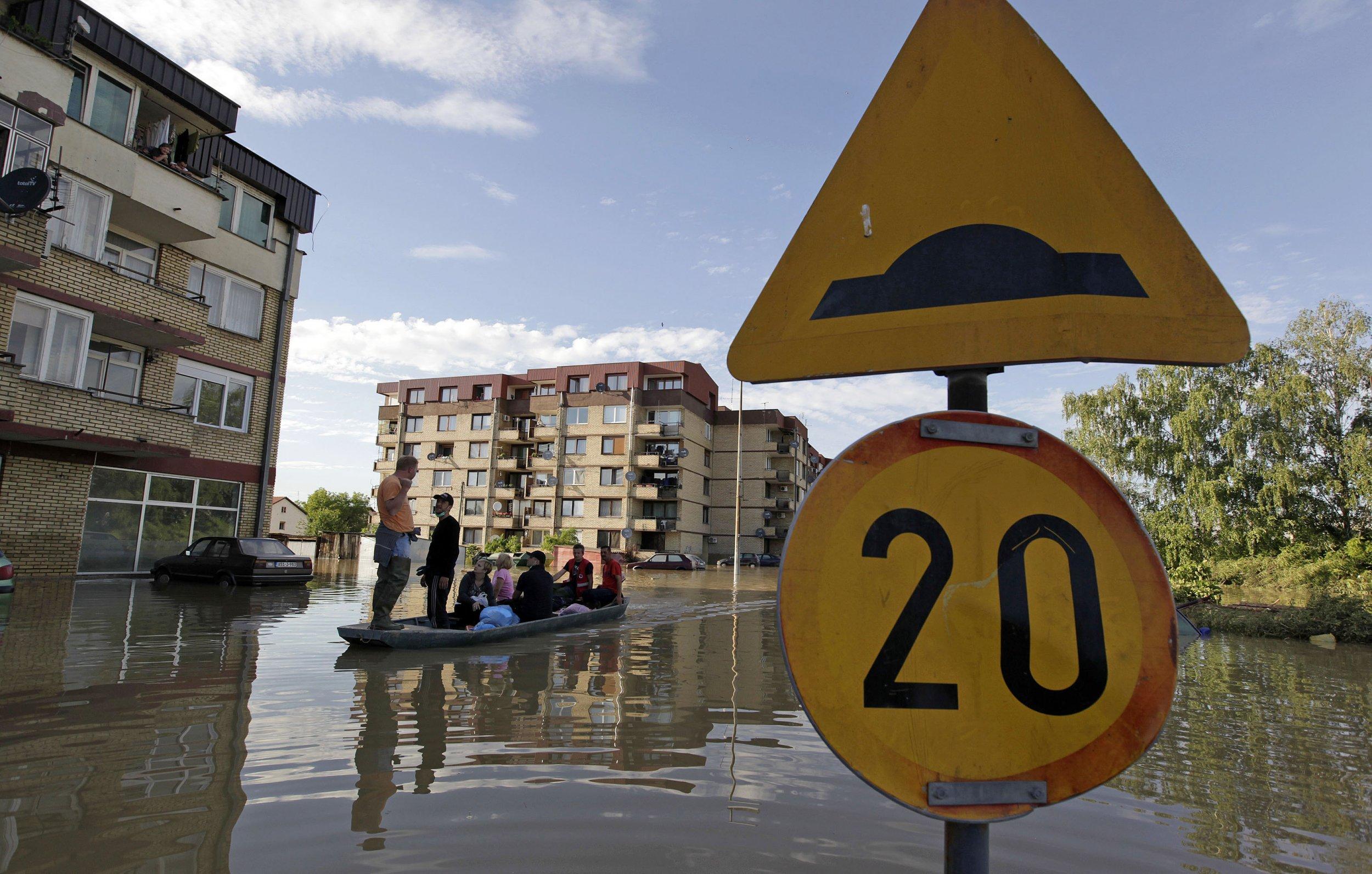 Bosnia floods