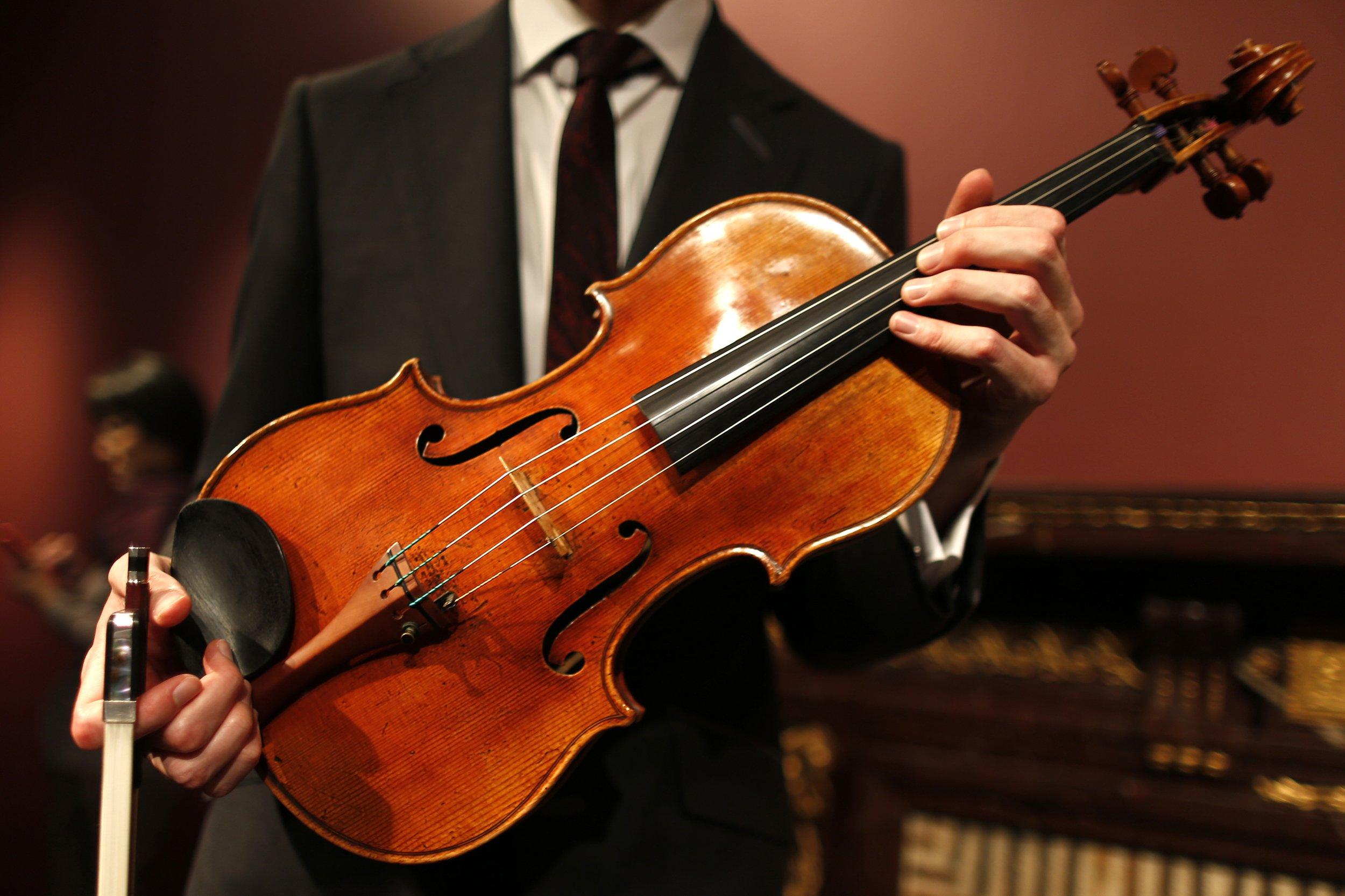 Stradivariuses, the Latest Financial Fiddle