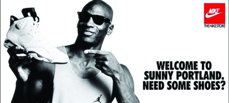 nike air jordan advertisement