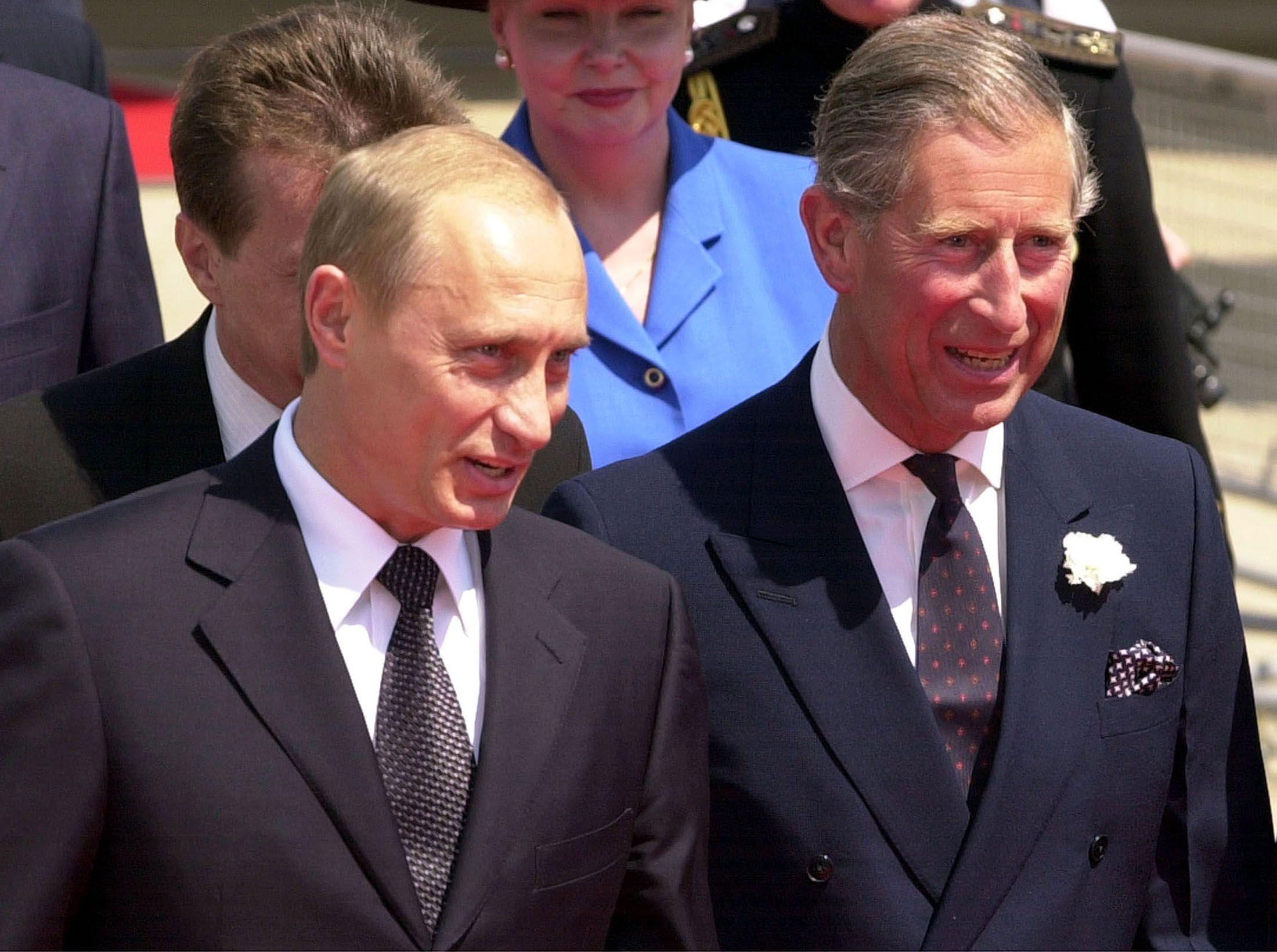 Putin and Prince Charles