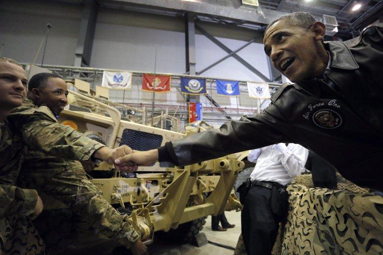 Barack Obama in Afghanistan