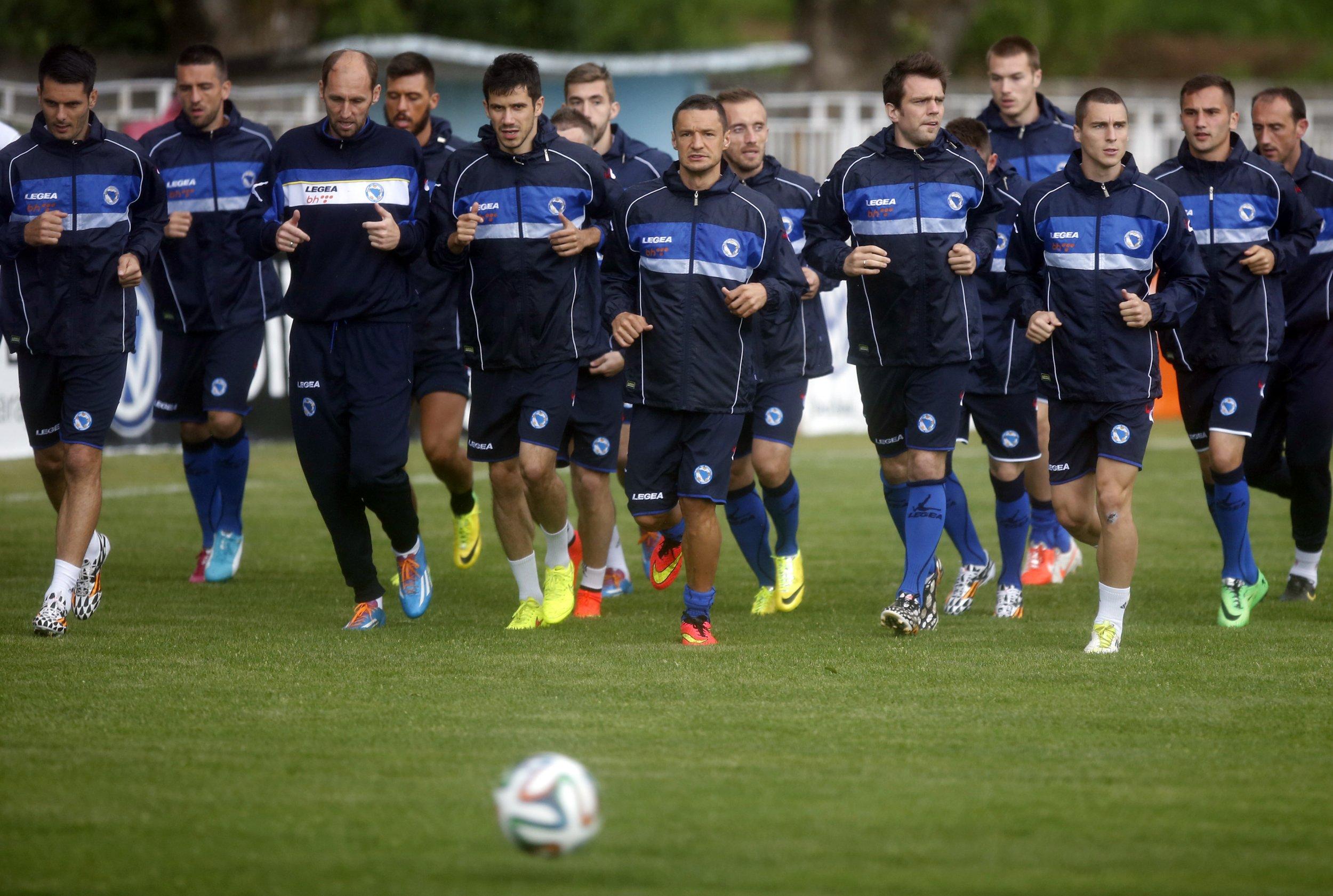 Bosnia national soccer team