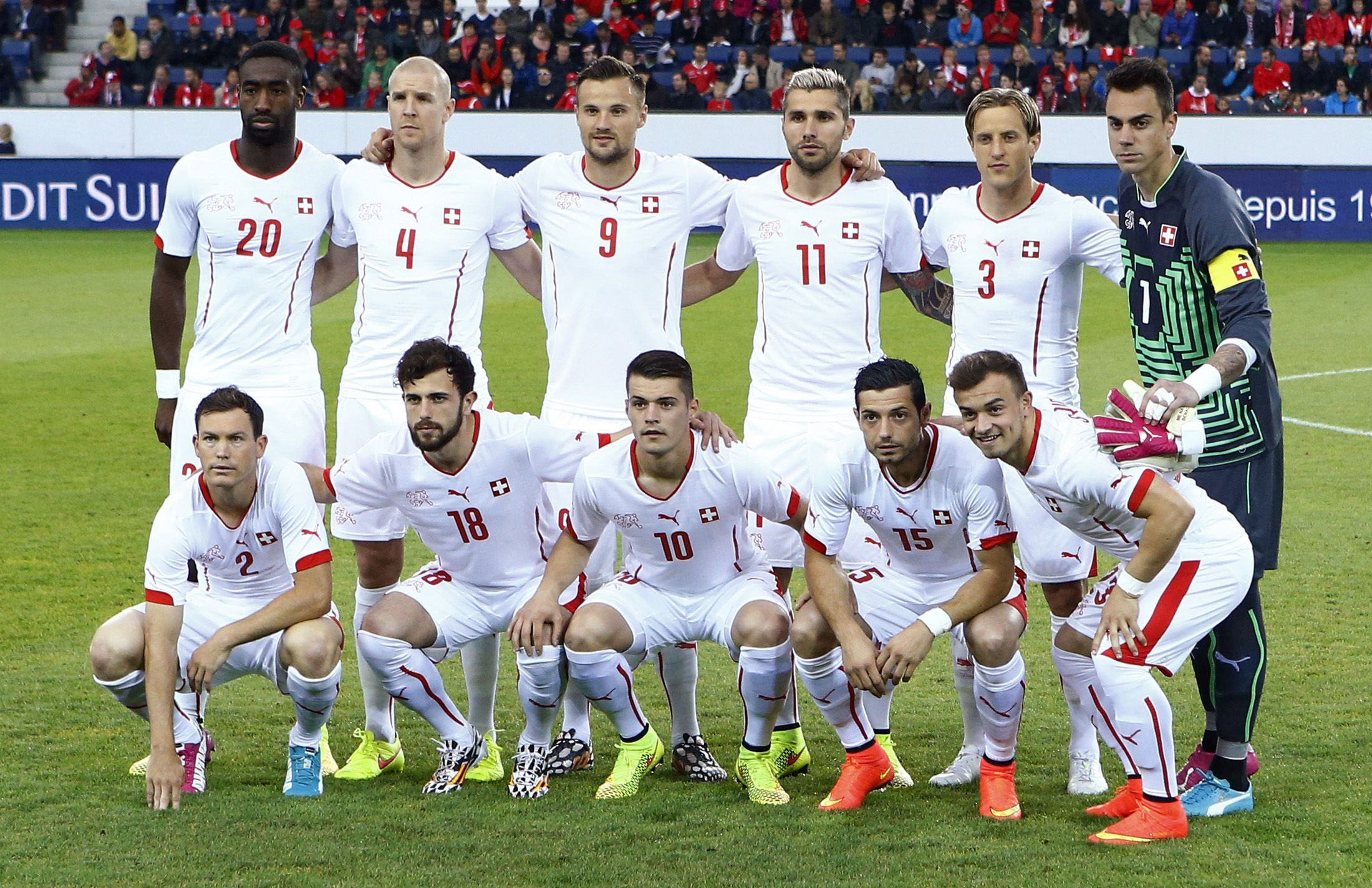 Switzerland's national soccer team