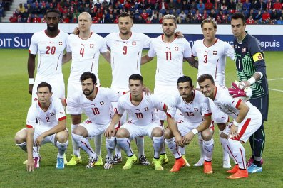 Switzerland's national soccer team